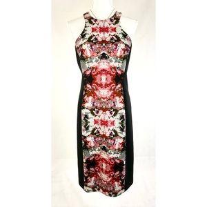 MAGGY LONDON Color block Sleeveless Pencil Dress